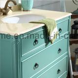 Tamaño pequeño de madera maciza clásico americano armarios de baño Waterproof (ACS1-W74).