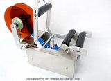 Semi автоматическая ручная машина ярлыка стикера для круглых бутылок