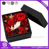 Rectángulos de empaquetado de la flor del regalo colorido de la cartulina