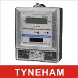 Dds-2L enige Fase Twee LCD van de Meter van de Draad Elektronisch Type