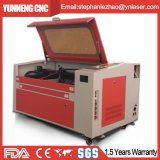 Laser-Ausschnitt-Maschine für Nonmatel hölzernes Acrylmarmorierungzeichen