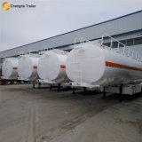 De Chengda de la remorque 3 des essieux 40000L de camion-citerne remorque d'essence et d'huile semi