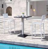 Meubles extérieurs Effiel de patio dinant la présidence de bureau de barre d'hôtel et le Tableau à la maison en bois en plastique (J676)