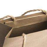 2017 새로운 최신 직업적인 공장에 의하여 생성되는 주문을 받아서 만들어진 디자인 방수 Kraft 종이 쇼핑 선물 승진 부대
