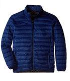 Mens 경량 덧대진 폴리에스테 재킷, 겨울 재킷