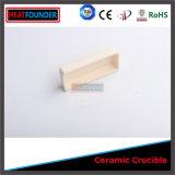 Crogiolo di ceramica dell'allumina di elevata purezza