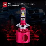 Linterna automotora del vatiaje H7 LED del aluminio 20 de la aviación de los faros del mecanismo impulsor interno LED