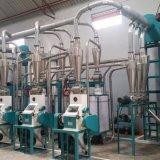아프리카 옥수수 가루 맷돌로 가는 옥수수 가루 기계를 달리는 30 톤