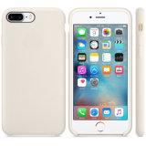 Случай жидкостного скреста геля силикона резиновый противоударного упорный противоюзовый с мягким валиком подкладки ткани Microfiber на iPhone 7 Apple