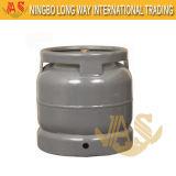 6kg Vérin du réservoir de gaz en acier pour le marché de l'Afrique du Sud