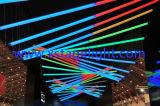 LED 활동적인 삼각형 관 가벼운 거는 디스코 점화