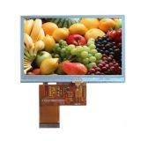"""TFT LCDのモジュール5 """" 480*272 RGB 40pinの任意選択抵抗か容量性タッチ画面"""
