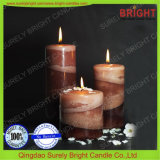 Pilar de estilo europeo, las velas para grandes cantidades