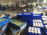 De Kaars van het tin met Privé Etiket in Gebemerkt