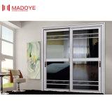 Puerta deslizante de aluminio con el vidrio Inferior-e para el balcón