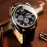 Vigilanze impermeabili del quarzo di disegno compatto dell'orologio della grande vigilanza della manopola di modo H335
