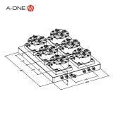Erowa 고속 선반 기계 CNC (3A-100926)를 위한 급속한 활동 물림쇠