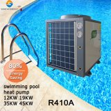 Toda a temporada aquecimento 25~256cube Multímetro SPA 45graus. C 12kw/19kw/35kw/70kw 100% de titânio Termóstato do aquecedor de bomba de calor para piscina do Tubo