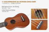 Карманная Ukulele Aiersi 17-дюймовый мини-гитаре оптовой музыкальный инструмент