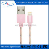 Gevlechte Kabel van de Bliksem Mfi USB van de premie de Op zwaar werk berekende Lader voor iPhone 5 6 7 8 plus