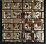 Preminumの新しい銅の樹脂のガラス装飾的な金属のステンレス鋼のモザイク