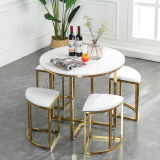 ガラス円卓会議の安いホーム家具を和らげること