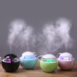 O humidificador fresco ultra-sônico do ar da névoa do agregado familiar com 7 cores ilumina o mini humidificador ajustável do USB