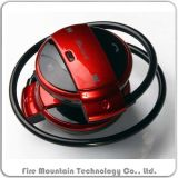 소형 501 Bluetooth 운영하는 Neckband 이어폰 지원 TF 카드