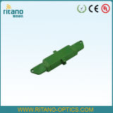 Adaptadores del cable óptico de fibra de E2000/Upc con de pequeñas pérdidas en 0.2dB con la casa azul plástica