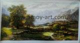 Pittura a olio classica Handmade all'ingrosso di paesaggio dalla Cina