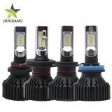 6000lm de 12V à prova de lâmpadas do farol de automóvel de 24V