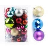 La decoración de Navidad de las chucherías del árbol de navidad del regalo de la Navidad adorna la bola