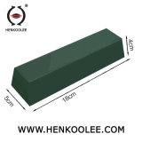 Le vert de la cire pour l'Épilation surface en acier inoxydable
