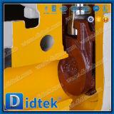 Klep van de Poort van Wcb van de Einden van Didtek de Handwiel Van een flens voorzien