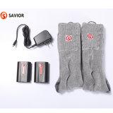 Зимние горячих и удобные носки из хлопка для мужчин и женщин, вязаные носки с подогревом, глобальное потепление и пота абсорбирующим походов, катания на лыжах носки с подогревом