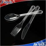 Jogos plásticos da faca da forquilha da colher do restaurante da cutelaria