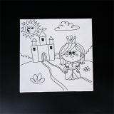 아이 Mjk-008를 위한 자석 널/목제 그림 대 또는 접을 수 있는 이젤 또는 교육 장난감을 쓰기