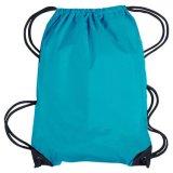 Nouveau mode de promotion personnalisée Salle de gym bleu sac sac avec lacet de serrage