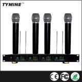 Tymine Hot Sale 4 canaux de microphone sans fil parfait pour 4 personnes simultanément parlant à la fois ! TM-V04