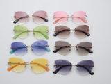 2018 schnelle Anlieferungs-preiswerte Gläsersun-Form-Sonnenbrillen