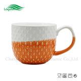 De aangepaste Hete Verkopende 2017 In reliëf gemaakte Ceramische Mok van de Soep
