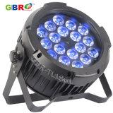 Gbr-Tl1861 18X15W RGBWA+UV 6in1 LED 옥외 LED 동위는 점화할 수 있다