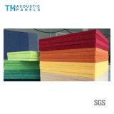Panneau de mur acoustique décoratif de fibre de polyester de matériau de construction/panneau de plafond