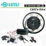 Bicicleta eléctrica de alta velocidad de 8000W de la rueda trasera del motor sin escobillas Hub Kit de conversión Ebike