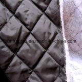 schwarzes Nylongewebe des taft-210t mit Diamanten 5.5cm gesteppt für Kleid