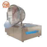 Máquina profunda da frigideira das microplaquetas de batata do gás do Ce