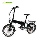 350 Вт в сложенном виде электрический велосипед со скрытым аккумуляторной батареи
