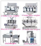 ふくらんでいる食糧パッキングおよび重量を量る機械