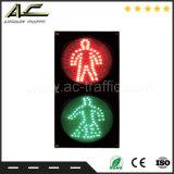 Une luminance élevée Red & Green dynamique des feux de circulation de passage pour piétons