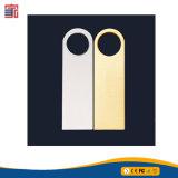USB impermeabile dell'istantaneo del metallo di Silm di marchio dell'OEM della fabbrica del metallo del bastone poco costoso del USB mini